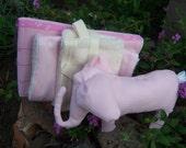 baby jean organics pink moon gift set