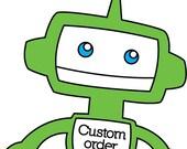 Custom Order for sfrellsen