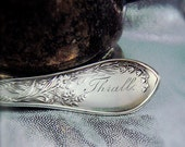 Lily silverplate by Rogers & Bro. Engraved Thrall ca 1800