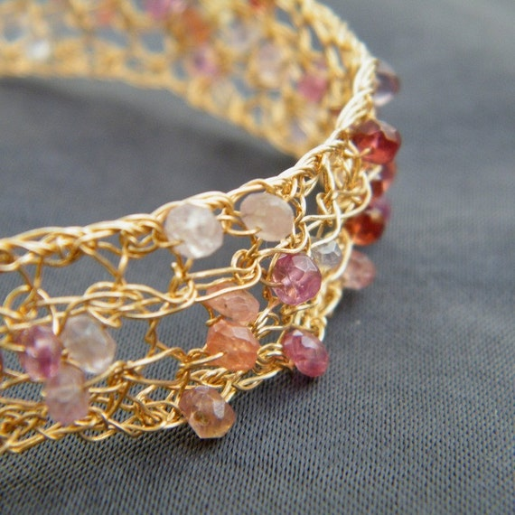 Princess Bracelet II, 14 karat gold filled
