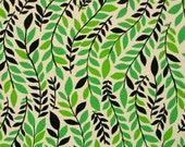 Griffith Leaf in Green, Alexander Henry In The Kitchen Fabric, 1 yard