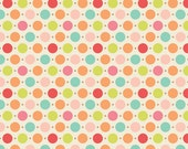 Multi Sweet Dots, Sweet Nothings by Zoe Pearn Designs, Riley Blake, END OF BOLT Sale 1 Yard 9 inches