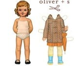 School Days Jacket and Coat Pattern by Oliver and S, Sizes 4 to 8, plus Free Shipping with any other purchase