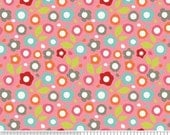 Going Out Of Business Sale Alphabet Soup Floral in Pink by My Mind's Eye, Riley Blake, END OF BOLT Sale 1 Yard