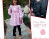Claire Marie Topcoat Pattern by Izzy and Ivy, plus Free shipping with any other purchase