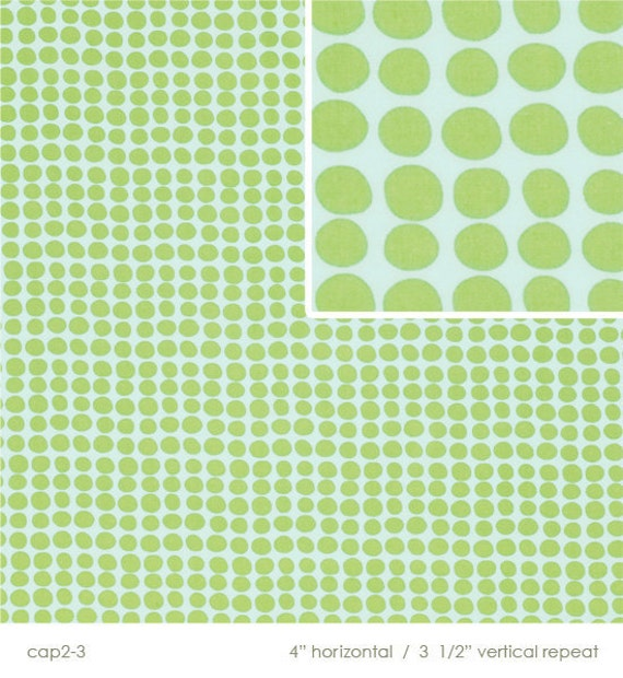 Sun Spots in Mint, Amy Butler Love, END OF BOLT Sale 18 inches