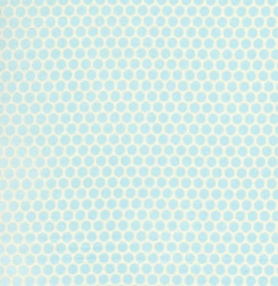 Going Out Of Business Sale Polka Dots in Blue from the Baby Talk collection by David Walker, END OF BOLT Sale 1 Yard