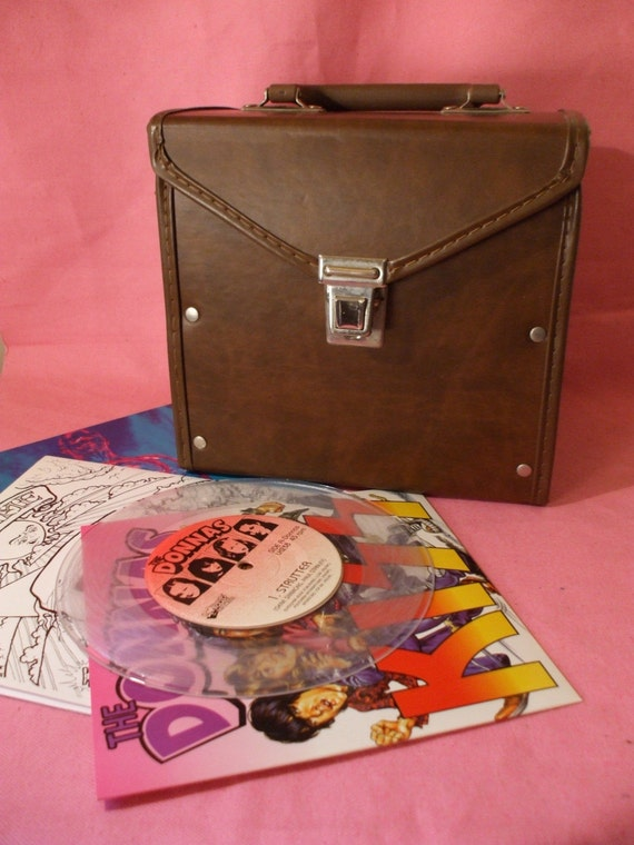 Vinyl Record Lp Carrying Case Vintage 1960s By