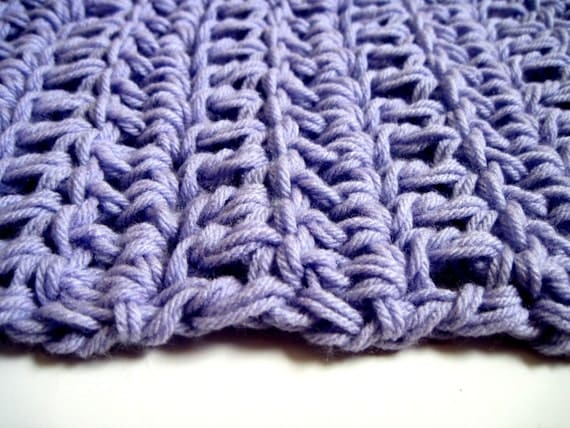 Baby Blanket Lavender Purple rug photography prop- Ready to ship
