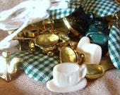 Craft Buttons - Tea Time