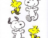 Wallies - Snoopy and Woodstock
