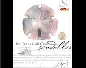 Texas Gulf Coast on 8x10 Canvas