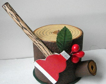 George Washington Cherry Tree Hatchet Candy Container