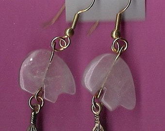 Amethyst Zuni Bear Earrings