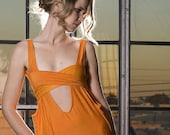 Orange Tye Dress