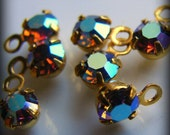 Tiny crystal dangles with a big shine