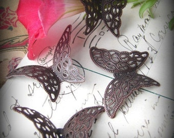 Filigree butterflies