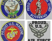MILITARY HONOR embroidery designs