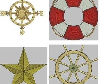 Nautical But Nice Embroidery Designs