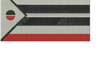 ARAPAHO---Native American Flag Embroidery Design