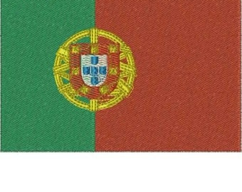 PORTUGAL World Flag Embroidery Design