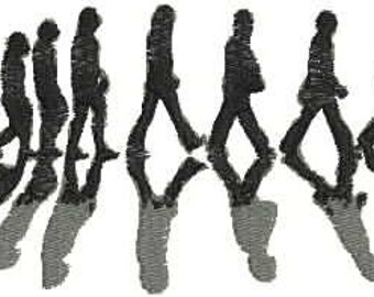 Evolution of the Beatles Embroidery Design