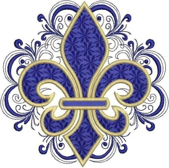 fleur de lis embroidery designs 2017 2018 best cars reviews. Black Bedroom Furniture Sets. Home Design Ideas