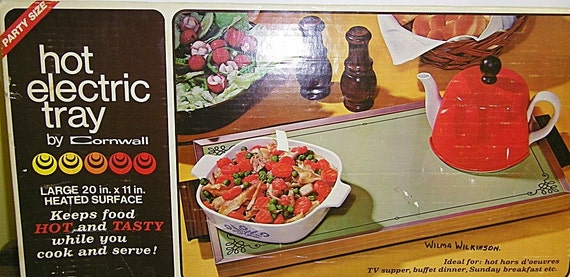 Vintage Kitchen Cornwall Hot Electric Tray in box