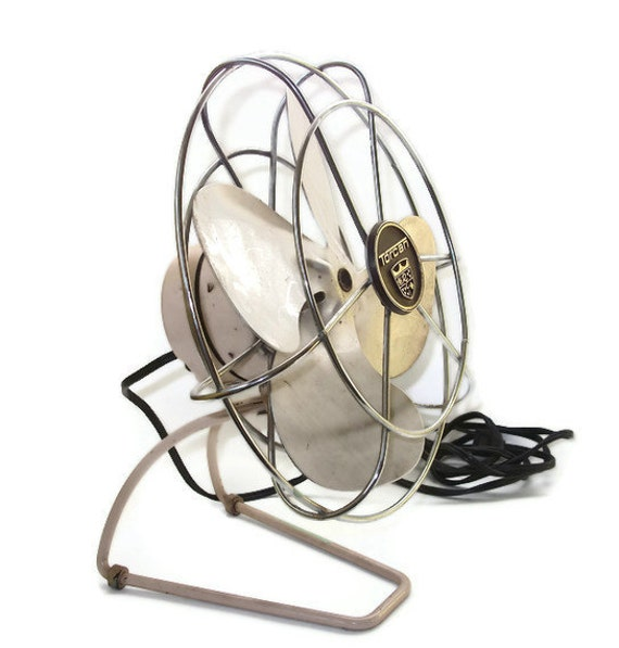 Vintage Torcan  Electric Fan