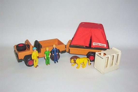 Vintage Fisher Price Adventure People Wild Animal By