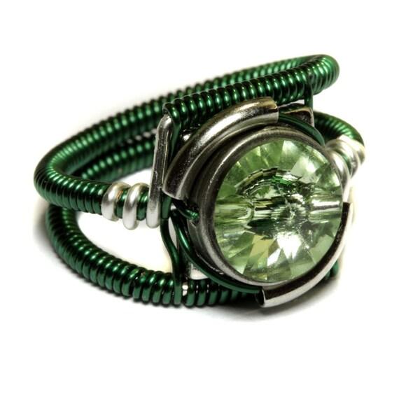 Cyberpunk Jewelry - RING - Green