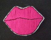 Pop Art Lips Brooches