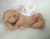 OOAK Polymer Baby Girl Art Sculpt By (Belinda Ferrell)
