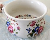 Portmeirion Pottery Stoke on Trent Made in England Floral Chmber Pot