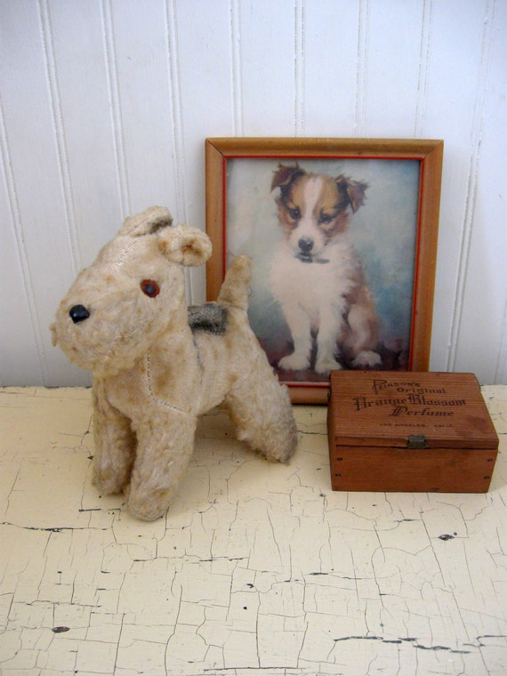 Steiff Dog Stuffed Animal Antique