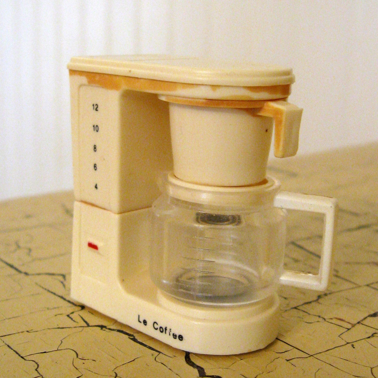 Retro Fridge Magnet Vintage Coffee Maker By Acme
