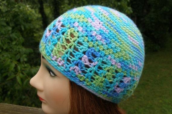 Immediate Download Pdf Crochet Pattern For The Kufi Style Beanie