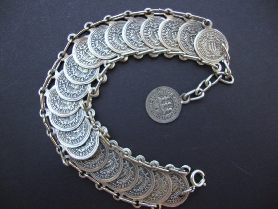 reserved for Vanita Republica Di Marino Coin Bracelet