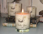 Organic Soy Container Candle All Natural Veggie Wax 3 oz size