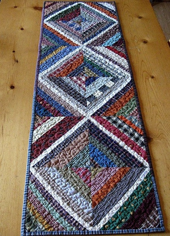 kaleidoscope table runner or wall hanging