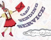 Romantic Send Card, Delivery Service, Free Service, Service Included