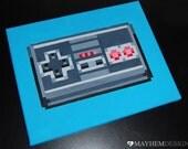 Nintendo NES Game Controller Pixel Painting