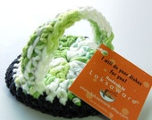 Kitchen / Dish scrubber , SCRUBBIE - Licorice Lime