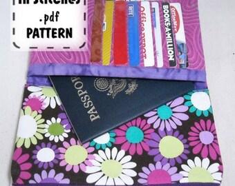 Hold It All Shopper PDF Pattern DIY Wallet Clutch Instructions