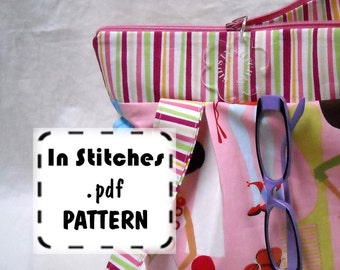Zipper Hobo PDF Purse Pattern-EASY Shoulderbag Tutorial-DIY Purse