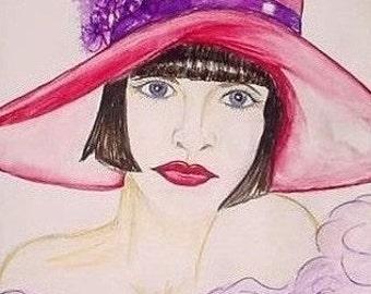 Red Hat Lady, Sophia