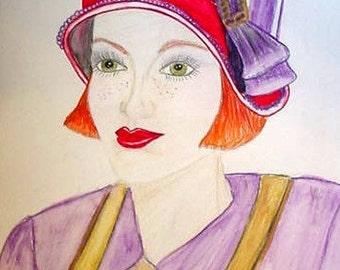 Red Hat Lady, Bethany