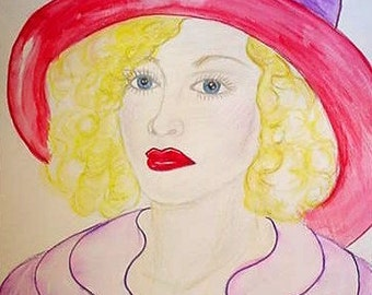 Red Hat Lady, Olivia