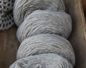 CVM Pencil Roving  Heather Gray, 5 ounces, Great for Beginning Spinners