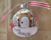 Personalized Family Gingerbread House Ornament